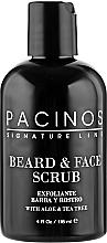 Духи, Парфюмерия, косметика Скраб для лица и бороды - Pacinos Beard & Face Scrub