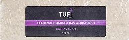 Духи, Парфюмерия, косметика Тканевые полоски для депиляции - Tufi Profi
