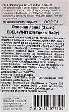 Очиститель языка - Edel+White Tongue Cleaner — фото N3