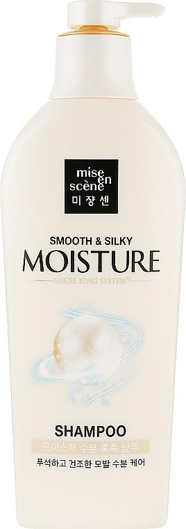 Увлажняющий шампунь для волос - Mise En Scene Pearl Smooth & Silky Moisture Shampoo