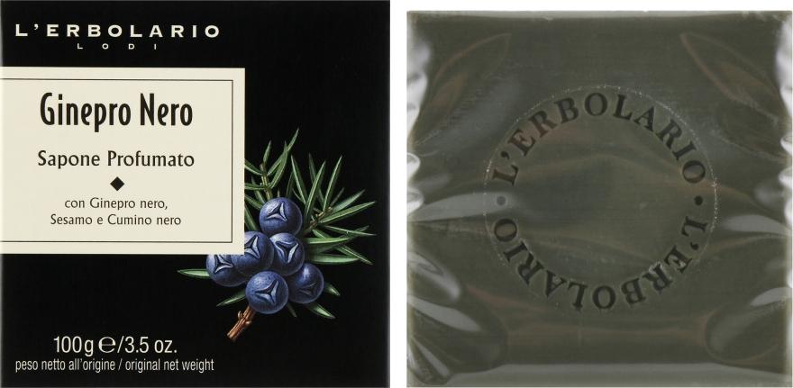 """Душистое мыло """"Черный можжевельник"""" - L'Erbolario Black Juniper Perfumed Soap"""