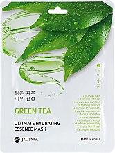 Духи, Парфюмерия, косметика Тканевая увлажняющая маска c экстрактом зеленого чая - Jkosmec Green Tea Ultimate Hydrating Essence Mask