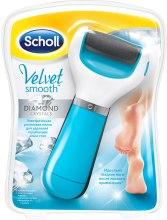Духи, Парфюмерия, косметика Электрическая роликовая пилка для ног - Scholl Velvet Smooth Diamond Crystal Blue