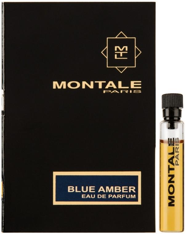 Montale Blue Amber - Парфюмированная вода (пробник)
