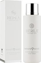 Духи, Парфюмерия, косметика Тонер для лица - Herla Infinite White Nutritive Brightening Face Toner