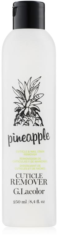 "Средство для удаления кутикулы ""Ананас"" - G. Lacolor Cuticle Remover Pineapple"