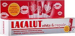 Духи, Парфюмерия, косметика Набор - Lacalut White&Repair (t/paste/75ml + lip/balm/1шт)