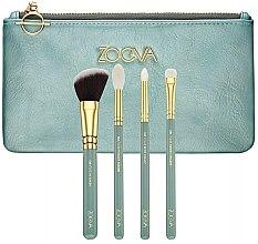 Духи, Парфюмерия, косметика Набор кистей для макияжа 4 шт - Zoeva Offline Brush Set