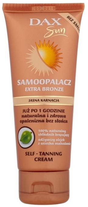 Автозагар для светлой кожи - DAX Sun Extra Bronze Self-Tanning Cream