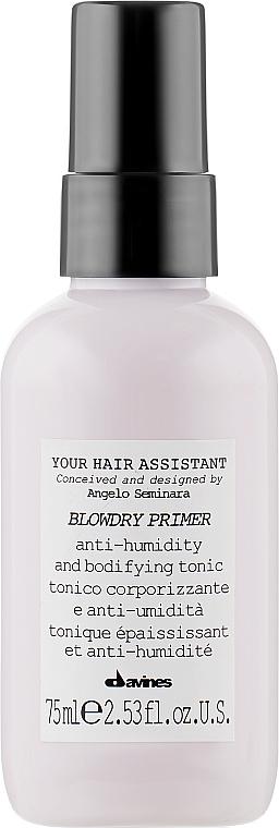 Спрей-праймер для укладки волос - Davines Your Hair Assistant Blowdry Primer