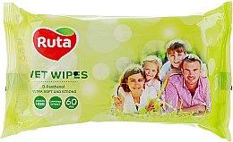 Духи, Парфюмерия, косметика Универсальные влажные салфетки для всей семьи - Ruta Selecta