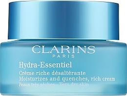 Духи, Парфюмерия, косметика Увлажняющий крем для сухой кожи - Clarins Hydra-Essentiel Rich Cream-Very Dry Skin