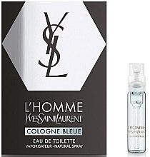Духи, Парфюмерия, косметика Yves Saint Laurent L'Homme Cologne Bleue - Туалетная вода (пробник)
