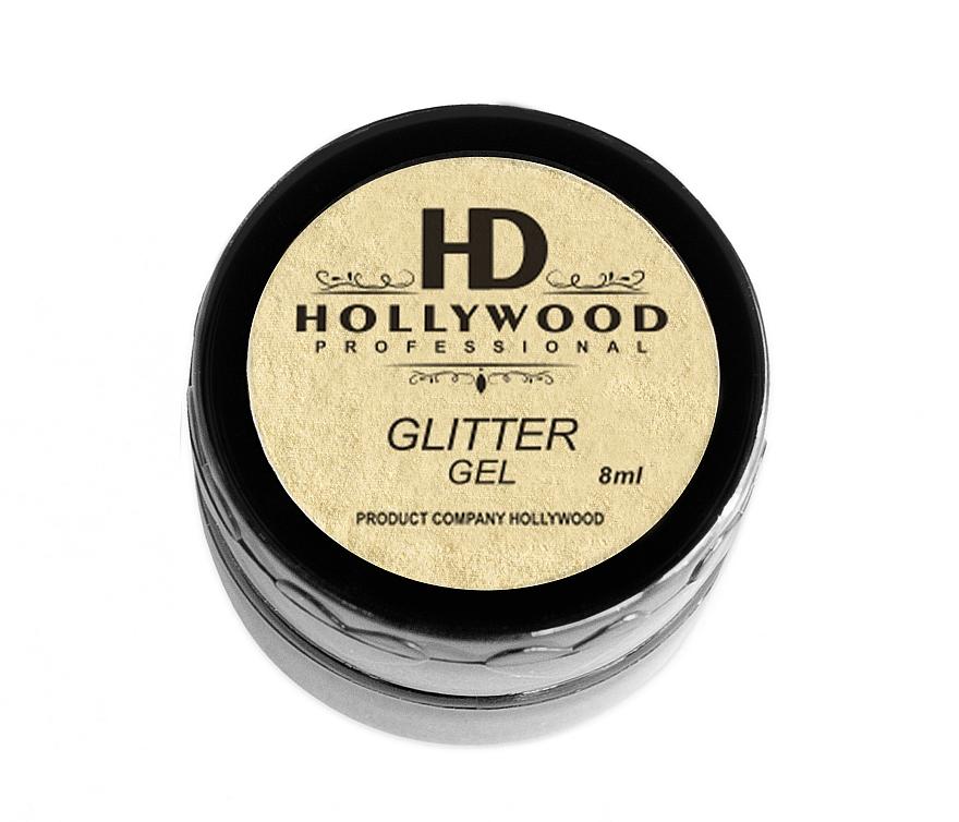 Глиттер для ногтей - HD Hollywood Glitter Gel