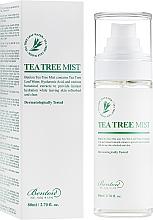 Духи, Парфюмерия, косметика Спрей для лица с экстрактом чайного дерева - Benton Tea Tree Mist