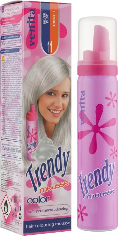 Мусс для волос красящий - Venita Trendy Color Mousse