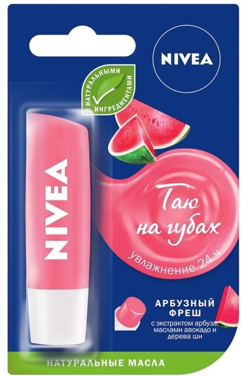 """Бальзам для губ """"Арбузный фреш"""" - Nivea Lip Balm"""