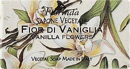 """Духи, Парфюмерия, косметика Мыло натуральное """"Цветы ванили"""" - Florinda Sapone Vegetale Vanilla Flowers"""