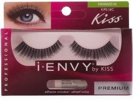 Парфумерія, косметика Накладні вії - Kiss IEnvy Eyelashes Paparazzi 02