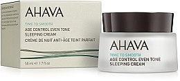 Духи, Парфюмерия, косметика Ночной восстанавливающий крем, выравнивающий тон кожи - Ahava Age Control Even Tone Sleeping Cream