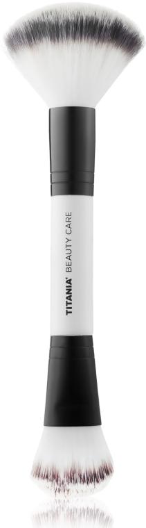 Профессиональная двухсторонняя кисть для нанесения макияжа - Titania
