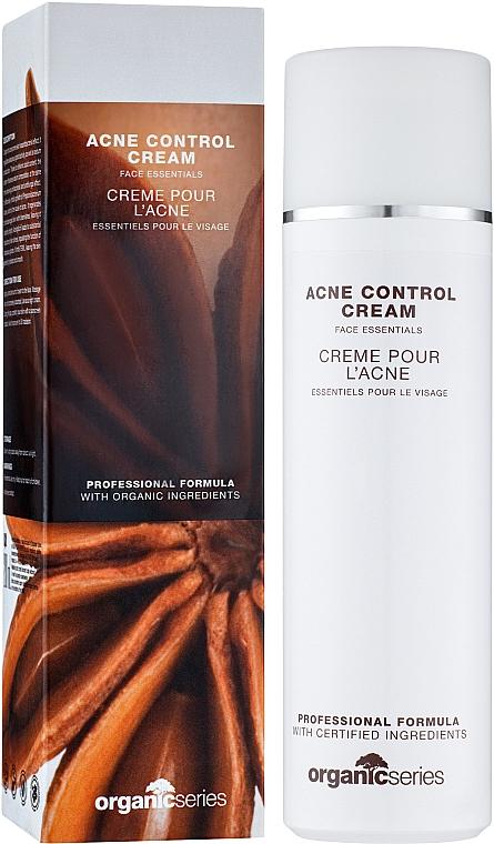 Крем для проблемной кожи склонной к акне - Organic Series Acne Control Cream