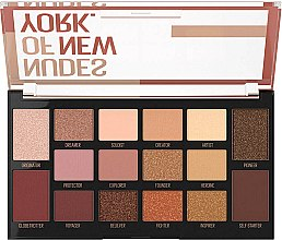 Палетка тіней - Maybelline Nudes of New York Eye Palette — фото N2