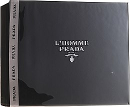 Духи, Парфюмерия, косметика Prada L'Homme Prada - Набор (edt/50ml + sh/g/100ml)