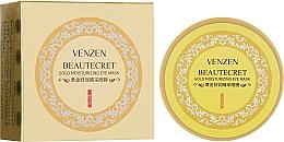 Духи, Парфюмерия, косметика Гидрогелевые патчи с коллоидным золотом и спирулиной - Venzen Gold Moisturizing Eye Mask