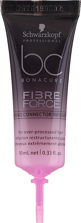 Концентрат для восстановления структуры поврежденных волос - Schwarzkopf Professional BC Bonacure Fibre Force Bond Connector Infusion