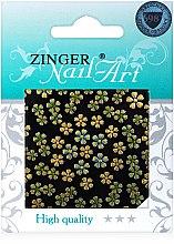 Духи, Парфюмерия, косметика Наклейки для дизайна ногтей, fda-182 - Zinger Nail Art Sticker