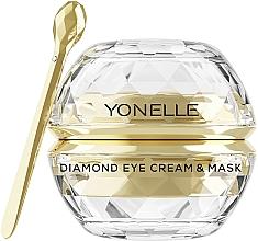 Духи, Парфюмерия, косметика Крем-маска для кожи вокруг глаз - Yonelle Diamond Eye Cream & Mask