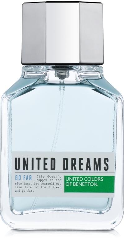 Benetton United Dreams Go Far - Туалетная вода (тестер с крышечкой)