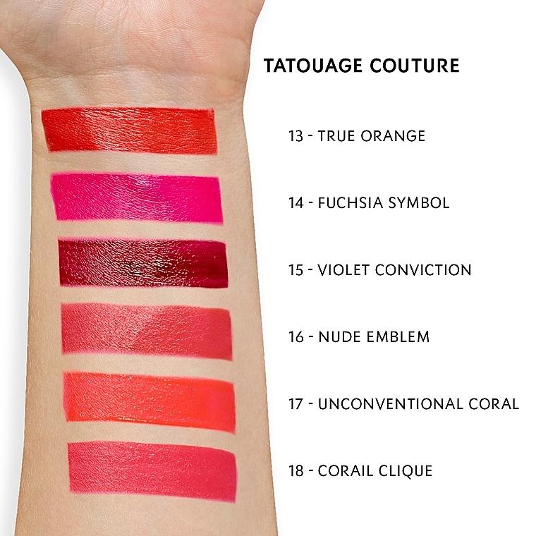 Матовая помада-татуаж для губ - Yves Saint Laurent Tatouage Couture — фото N4