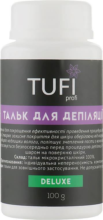 Тальк для депиляции - Tufi Profi Deluxe