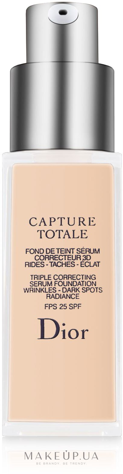 makeup christian dior capture totale fond de teint serum correcteur 3d. Black Bedroom Furniture Sets. Home Design Ideas