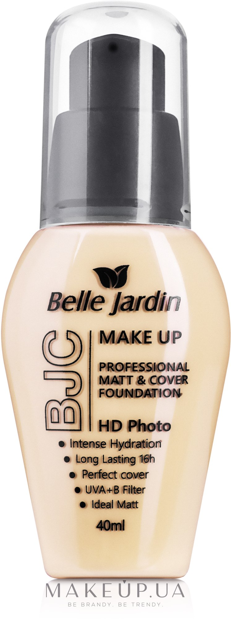 MAKEUP | Тональный крем - Belle Jardin Make Up HD Photo Matt and ...