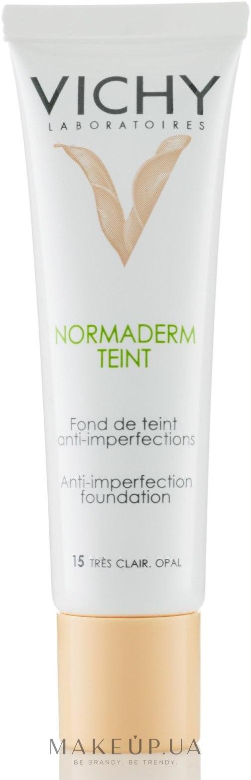 Тональный крем для проблемной кожи - Vichy Normaderm Teint — фото N1