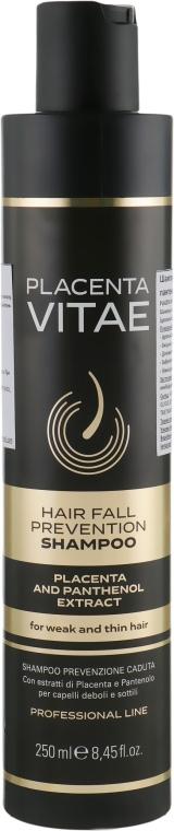 Шампунь против выпадения волос с экстрактом плаценты - Placenta Vitae Professional Line Hair Fall Prevention Shampoo