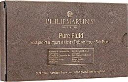 Духи, Парфюмерия, косметика Флюид для жирной кожи лица - Philip Martin's Pure Fluid