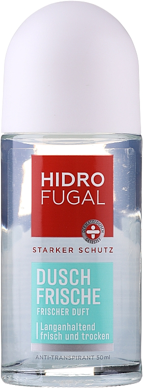 "Антиперспирант шариковый ""Свежесть"" - Hidrofugal Shower Fresh Roll-on"