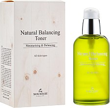 Духи, Парфюмерия, косметика Увлажняющий и матирующий тонер для восстановления баланса кожи - The Skin House Natural Balancing Toner
