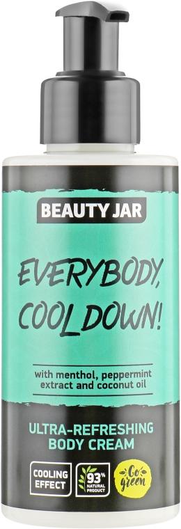 "Ультра освежающий крем для тела ""Everybody, Cool Down!"" - Beauty Jar Ultra-Refreshing Body Cream"
