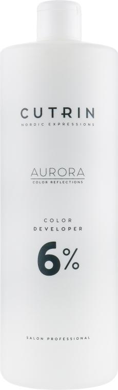 Окислитель 6% - Cutrin Aurora Color Developer — фото N3