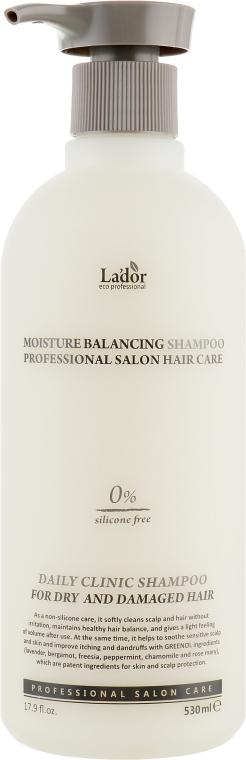 Безсиликоновый увлажняющий шампунь - La'dor Moisture Balancing Shampoo