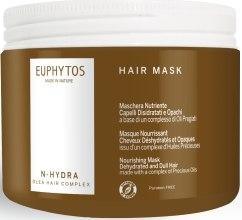 "Духи, Парфюмерия, косметика Увлажняющая питающая маска для обезвоженных и тусклых волос ""N-Hydra"" - Euphytos N-Hydra Hair Mask"