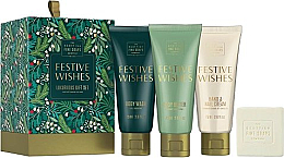 Духи, Парфюмерия, косметика Набор - Scottish Fine Soaps Festive Wishes Luxurious Gift Set (sh/gel/75ml + b/cr/75ml + hand/nailcr/75ml + soap/40g)