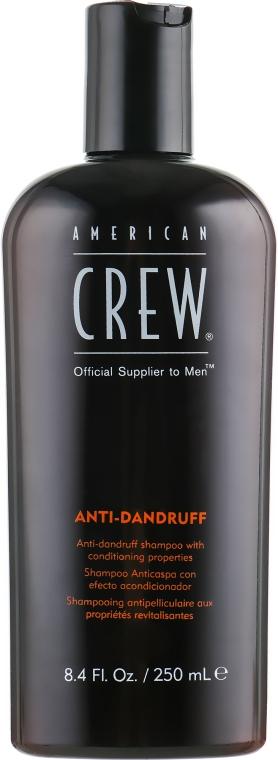 Шампунь против перхоти для жирной кожи головы - American Crew Anti Dandruff+Sebum Control Shampoo