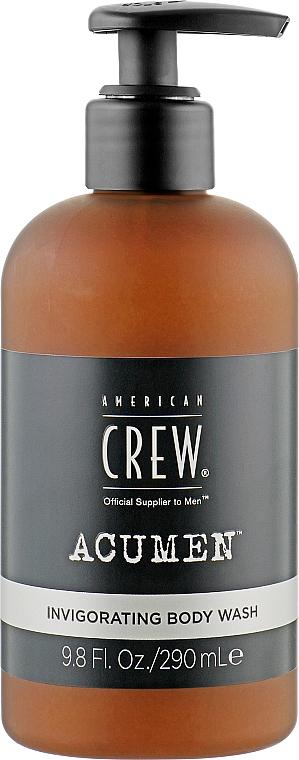 Бодрящий гель для душа - American Crew Acumen Invigorating Body Wash