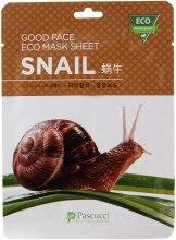 Духи, Парфюмерия, косметика Маска для лица с улиточным муцином - Amicell Pascucci Good Face Eco Mask Sheet Snail